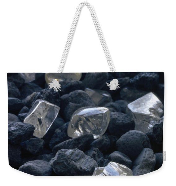 Close View Of Crystals Scattered Among Weekender Tote Bag