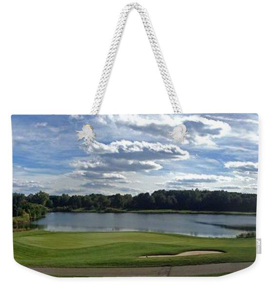 Club House Panorama Weekender Tote Bag