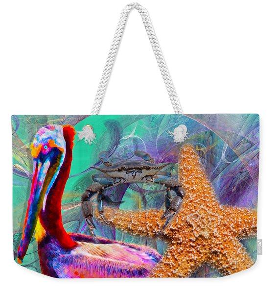 Coastal Life II Weekender Tote Bag