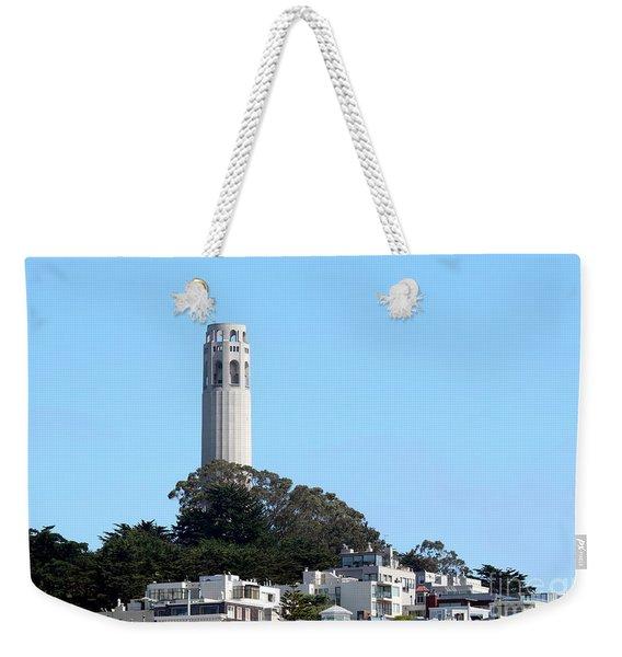 Coit Tower Weekender Tote Bag