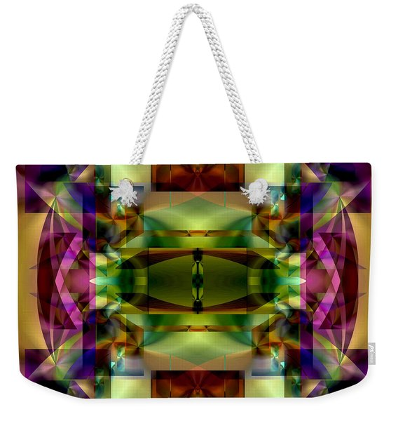 Color Genesis 1 Weekender Tote Bag