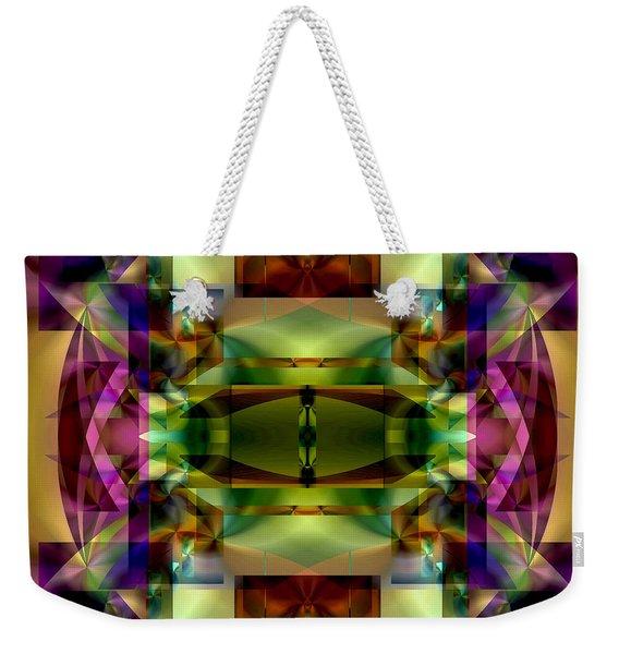 Color Genesis 1 Weekender Tote Bag