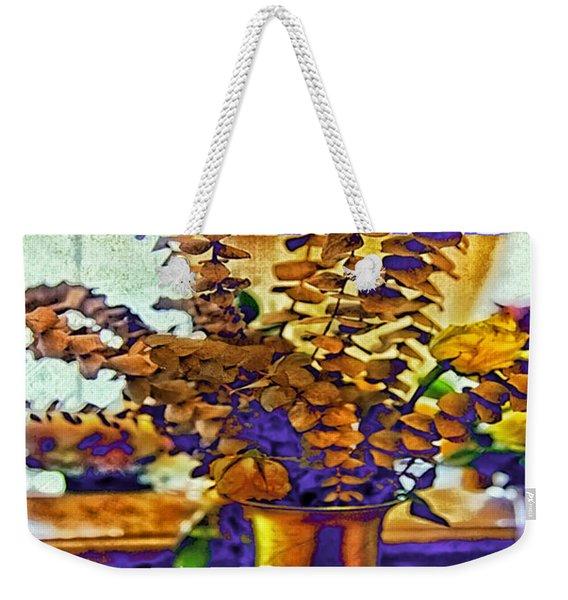 Colored Memories Weekender Tote Bag