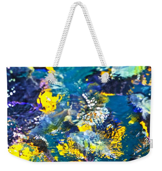 Colorful Tropical Fish Weekender Tote Bag