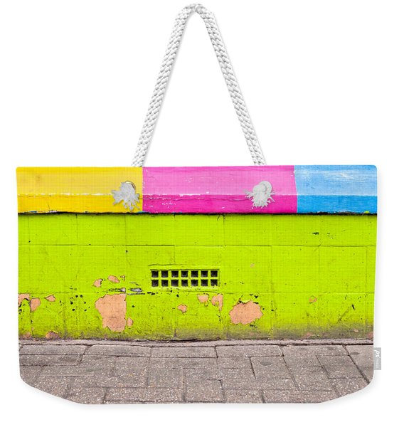 Colorful Wall Weekender Tote Bag