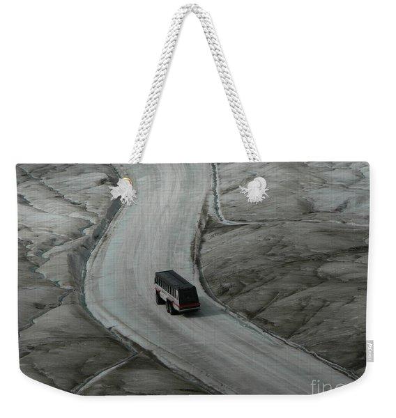 Columbia Icefield Glacier Adventure Weekender Tote Bag