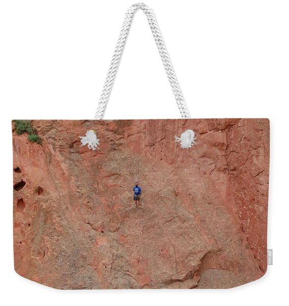 Coming Down The Mountain Weekender Tote Bag