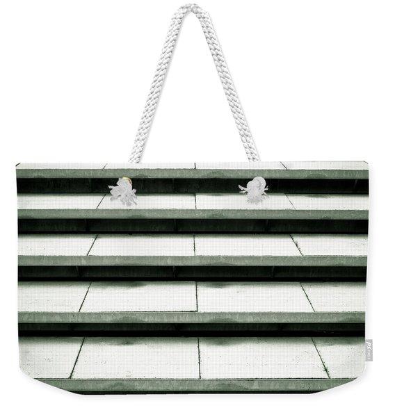 Concrete Steps Weekender Tote Bag