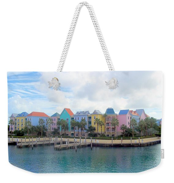 Weekender Tote Bag featuring the photograph Condo Living by Cynthia Amaral