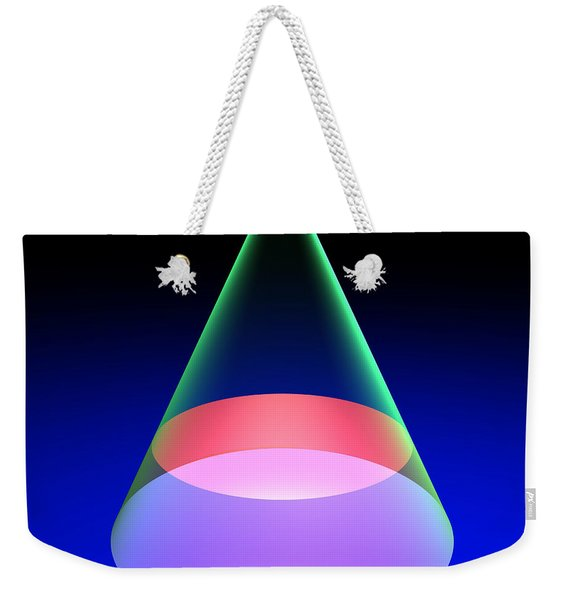 Conic Section Circle 6 Weekender Tote Bag