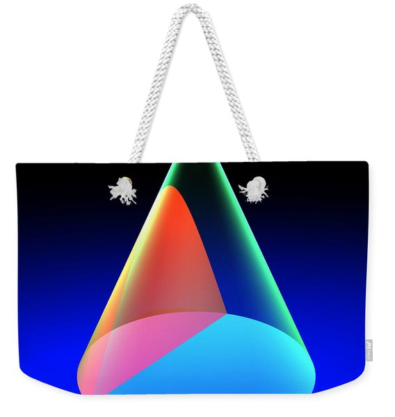 Conic Section Hyperbola 6 Weekender Tote Bag