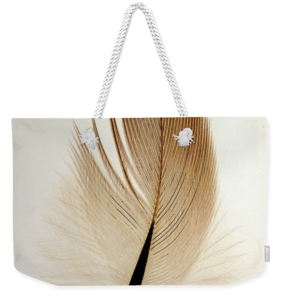 Contour Feather Weekender Tote Bag