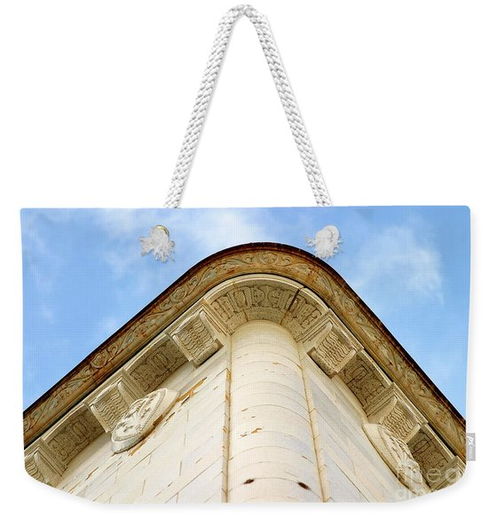 Corner Building Weekender Tote Bag