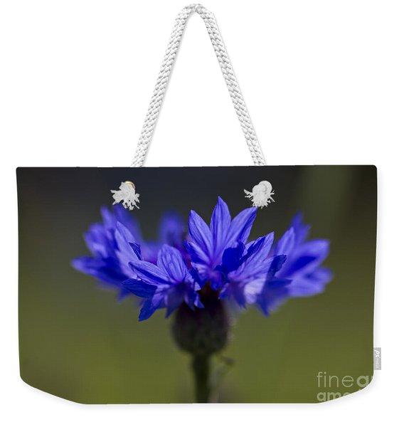 Cornflower Blue Weekender Tote Bag