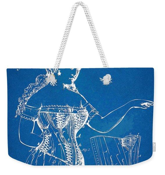 Corset Patent Series 1877 Weekender Tote Bag