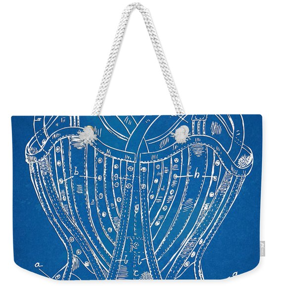 Corset Patent Series 1905 French Weekender Tote Bag