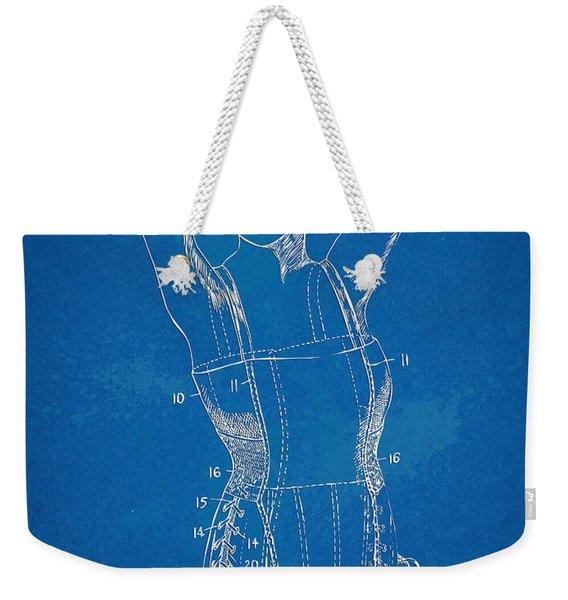 Corset Patent Series 1924 Figure 1 Weekender Tote Bag