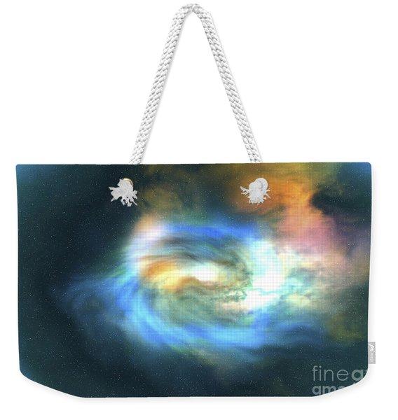 Cosmic Space Image Of The Universe Weekender Tote Bag