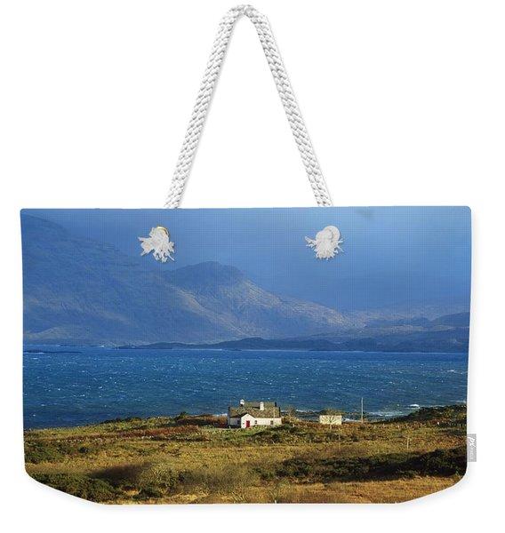 Cottage Near Renvyle, Connemara, Co Weekender Tote Bag