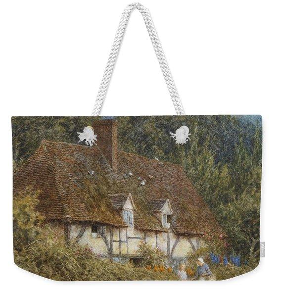 Cottage Near Witley Surrey Weekender Tote Bag