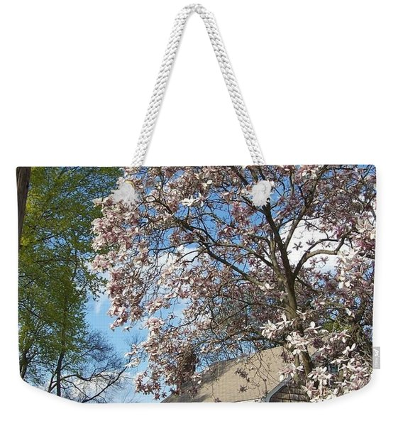 Weekender Tote Bag featuring the photograph Country Living by Cynthia Amaral