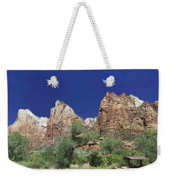 Court Of The Patriarchs Weekender Tote Bag