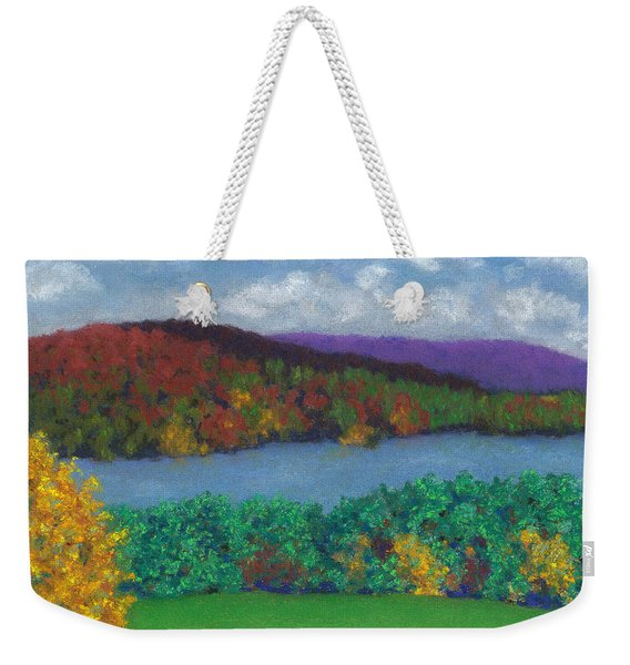 Crisp Kripalu Morning Weekender Tote Bag