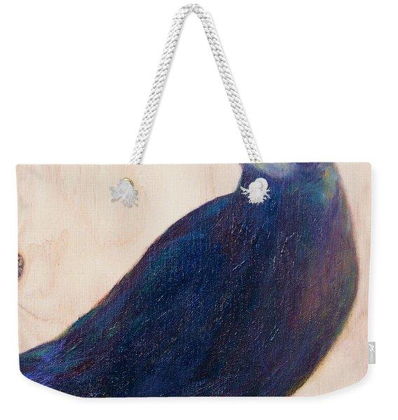 Crow Friend Weekender Tote Bag