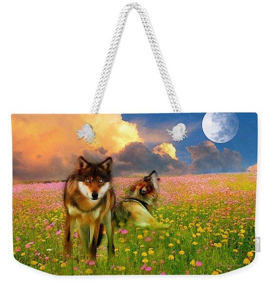 Cry At The Moon Weekender Tote Bag