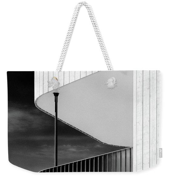 Curved Balcony Weekender Tote Bag