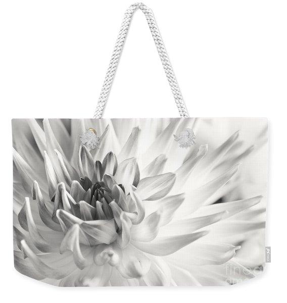 Dahlia Flower 02 Weekender Tote Bag