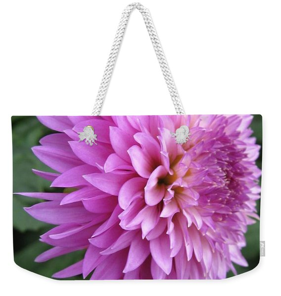 Dahlia Named Frizzy Lizzy Weekender Tote Bag