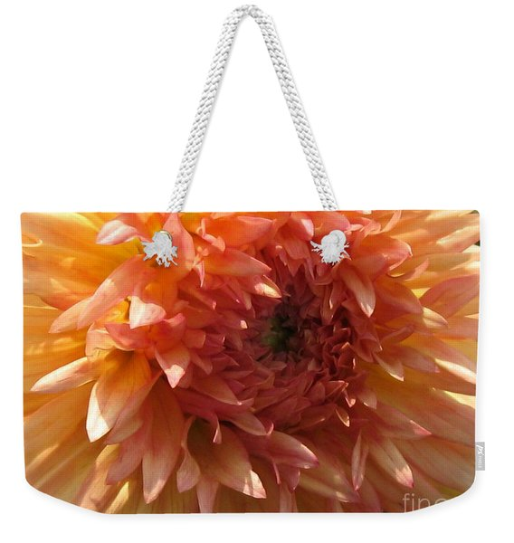 Dahlia Named Intrepid Weekender Tote Bag