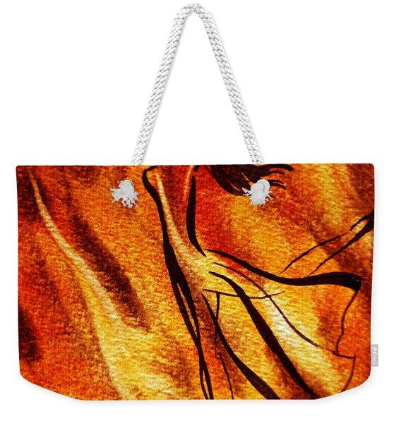 Dancing Fire Vi Weekender Tote Bag