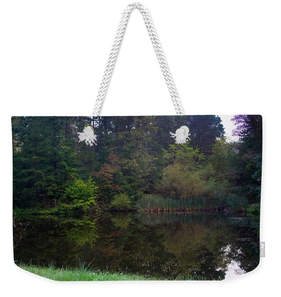 Dark Lake 1 Weekender Tote Bag