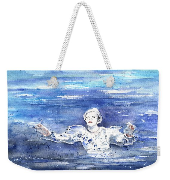 David Bowie In Ashes To Ashes Weekender Tote Bag