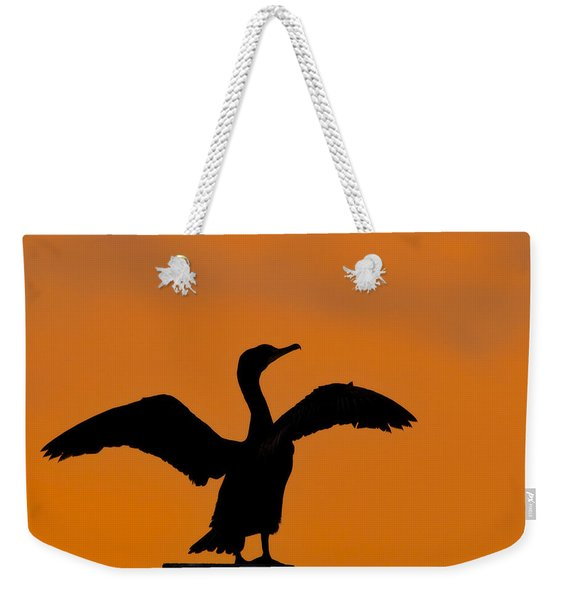 Dawn Of A Double-crested Cormorant  Weekender Tote Bag