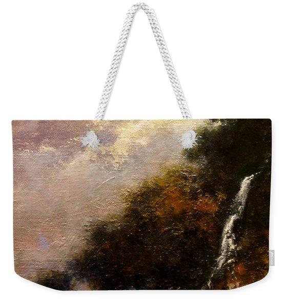 Daybreak Falls Weekender Tote Bag