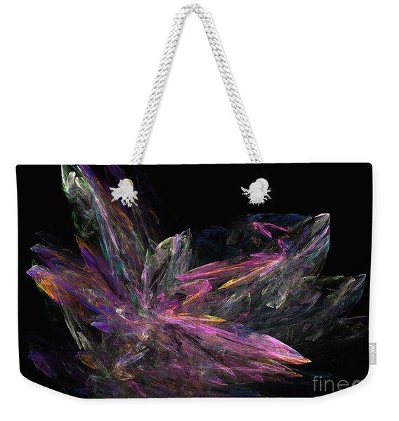 Deep Crystallization - Abstract Art Weekender Tote Bag