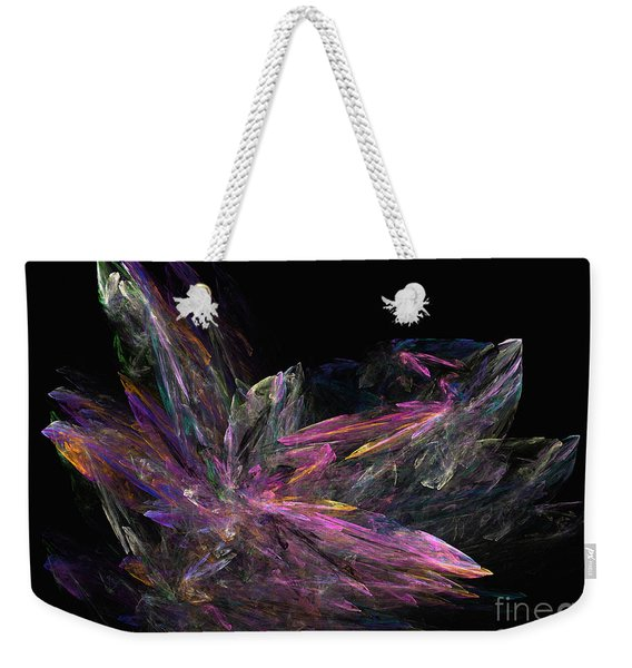 Deep Crystallization - Abstract Art Weekender Tote Bag