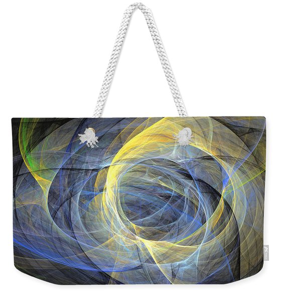 Delightful Mood Of Abstracted Mind Weekender Tote Bag