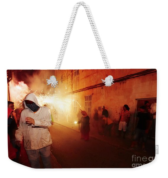 Demons In The Street Weekender Tote Bag