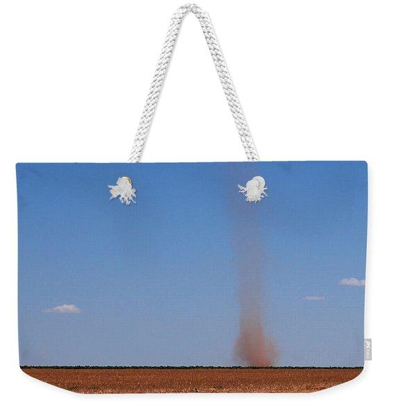 Dirt Devil On The Texas Plains Weekender Tote Bag