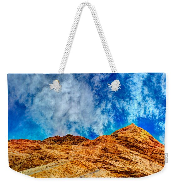 Dirt Mound And More Sky Weekender Tote Bag