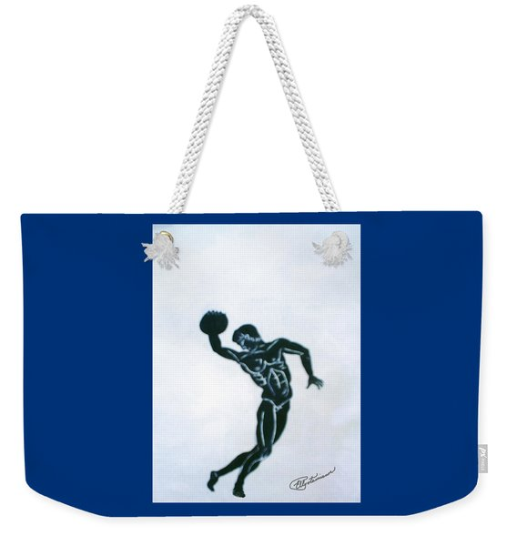 Disc Thrower Weekender Tote Bag