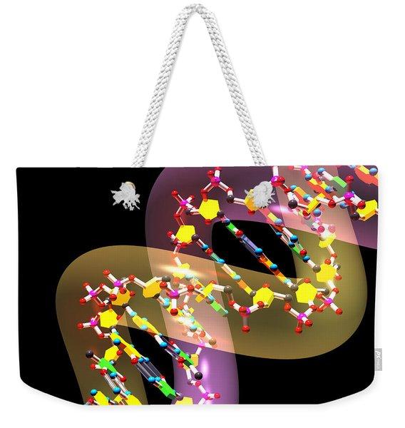 Dna 38 Weekender Tote Bag