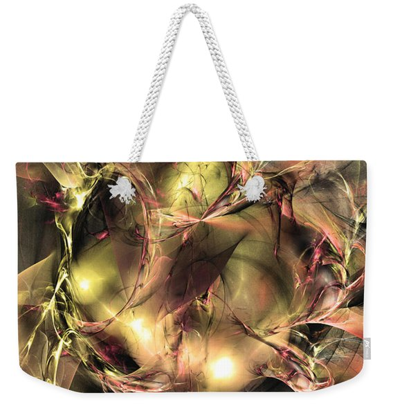 Do Not Touch -abstract Art Weekender Tote Bag