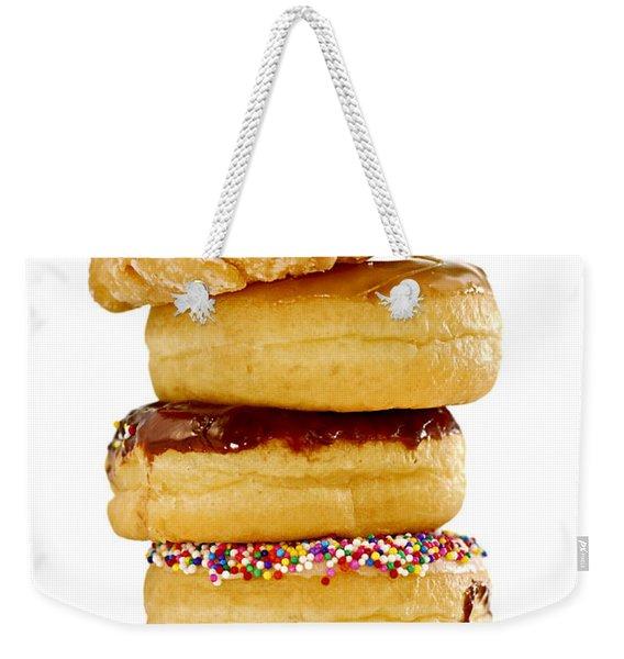 Donuts Weekender Tote Bag
