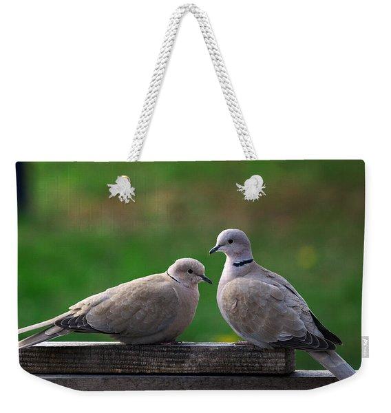Doves Weekender Tote Bag
