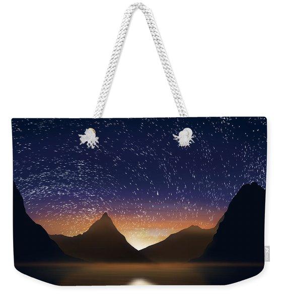 Dramatic Landscape  Weekender Tote Bag